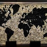 World Map (2015) SOLD