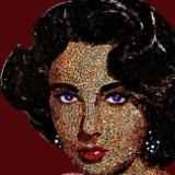Elizabeth Taylor (Reproduction Canvas Print)