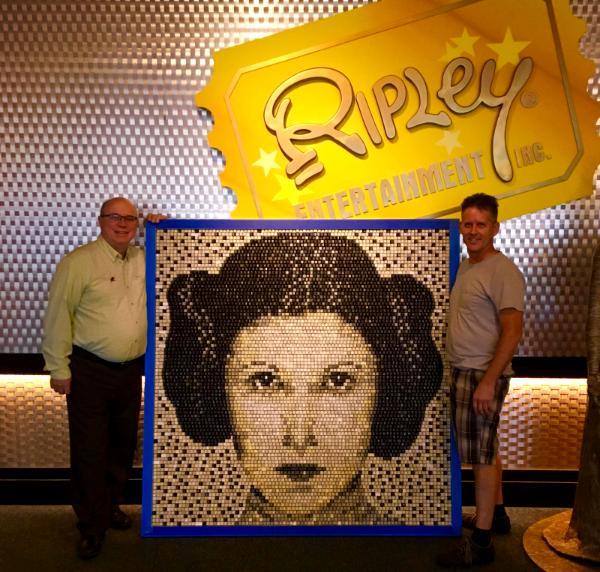 6,590 computer keys capture Princess Leia for Ripley