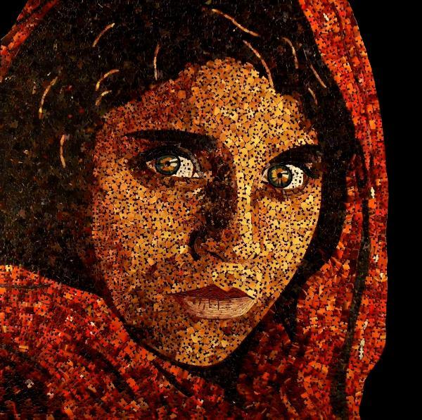 Afghan Girl (Reproduction Canvas Print)