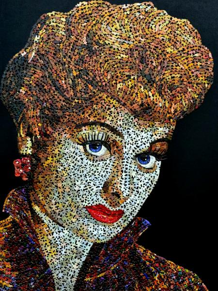 Lucille Ball (Reproduction Canvas Print)