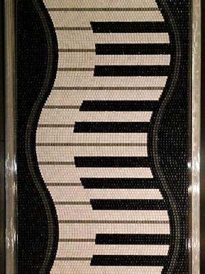 Piano Keys (2017) SOLD