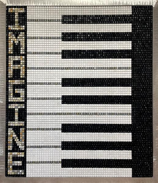 Piano Keys Red Felt (2018)