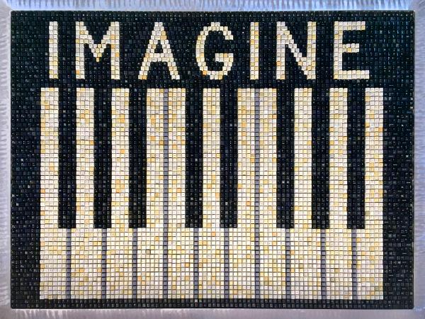 Piano Keys Imagine (2020) SOLD