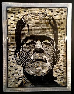 Frankenstein  (Reproduction Canvas Print)