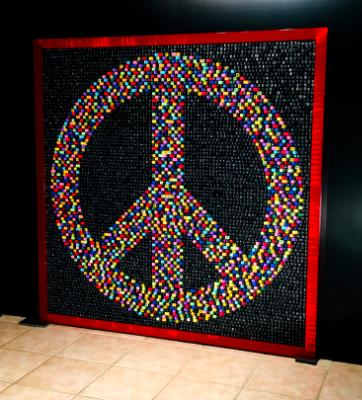 Peace Sign 1969 (2019) SOLD