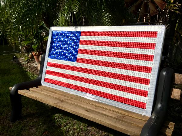 American Flag Pledge (2018) SOLD